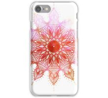 Spun - Red iPhone Case/Skin
