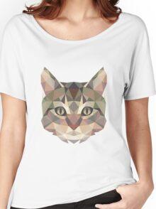 T-shirt Cat Women's Relaxed Fit T-Shirt