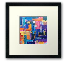 Color Study: Fall Framed Print