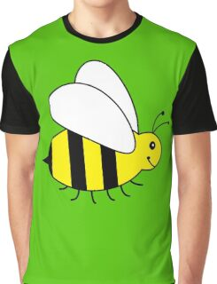 Cute Little Bumble Bee Graphic T-Shirt