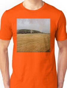 Countryside from a steam train Unisex T-Shirt