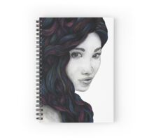 Born Besides a River That Flows a Raging Sea Spiral Notebook