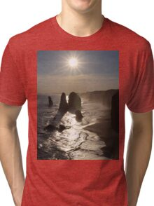 Sunset, Apostles Tri-blend T-Shirt