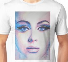 Adele in watercolor painting Unisex T-Shirt