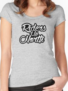 Riders Up North Women's Fitted Scoop T-Shirt