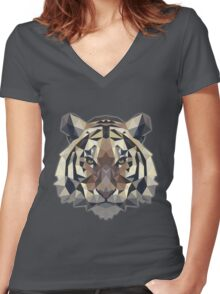 T-shirt Tiger Women's Fitted V-Neck T-Shirt