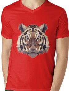 T-shirt Tiger Mens V-Neck T-Shirt