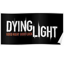 DYING LIGHT LOGO Poster