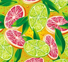 Citrus background by maystra