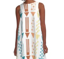 Decorative arrows, illustration A-Line Dress