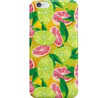 Citrus background iPhone Case/Skin