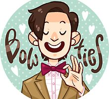 Bow Ties <3  by nowaitwhat