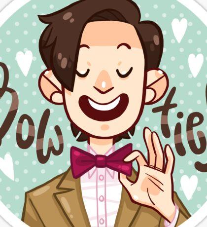 Bow Ties <3  Sticker