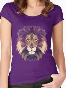 T-shirt Lion Women's Fitted Scoop T-Shirt