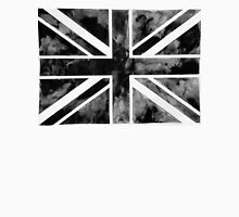 Black Paint Union Jack  Unisex T-Shirt