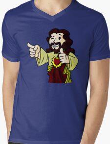 Buddy Vault Boy Mens V-Neck T-Shirt