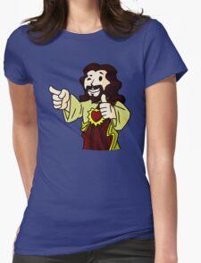 Buddy Vault Boy Womens Fitted T-Shirt
