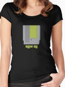 Blow Me Women's Fitted Scoop T-Shirt