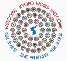 Kyopo World: Welcome: We Are Korea Kids Tee