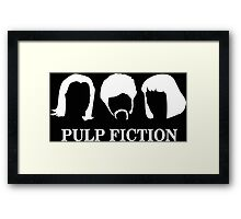 PIup Fiction Framed Print