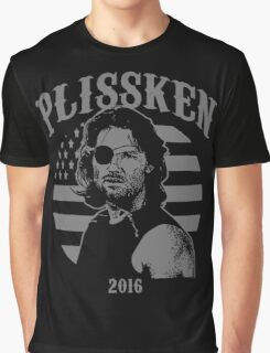 Plissken For President 2016 Graphic T-Shirt