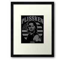 Plissken For President 2016 Framed Print