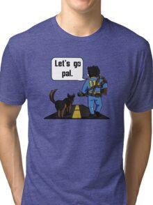 THE LONESOME ROAD T-SHIRT Tri-blend T-Shirt
