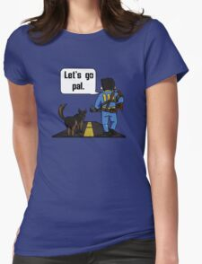THE LONESOME ROAD T-SHIRT Womens Fitted T-Shirt