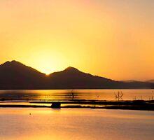 Golden Lake by Stephen  Nicholson