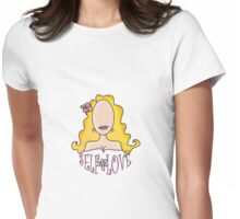 Self Love Flower~(C) Womens Fitted T-Shirt