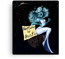 Neptune or Bust Canvas Print