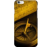 Compass and other relics  iPhone Case/Skin