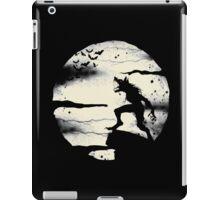 Werewolf With The Full Moon iPad Case/Skin