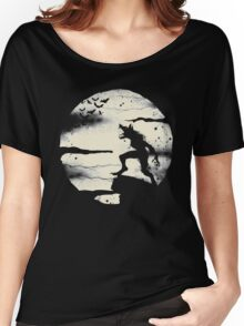 Werewolf With The Full Moon Women's Relaxed Fit T-Shirt