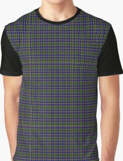 01269 Color Matrix Fashion Tartan  Graphic T-Shirt