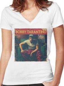 Bobby Tarantino Women's Fitted V-Neck T-Shirt