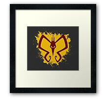 Monarch - The Venture Bros. Framed Print