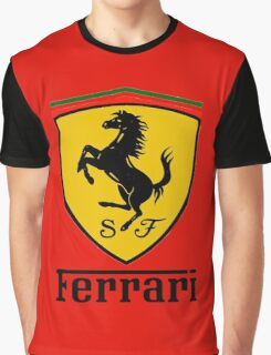 FERRARI Graphic T-Shirt