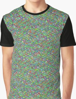 Colourful Scribble Graphic T-Shirt