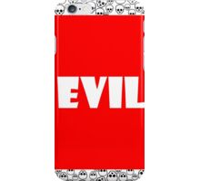 Evil iPhone Case/Skin