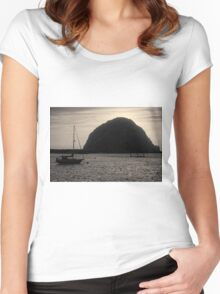 Morro Bay I Toned Women's Fitted Scoop T-Shirt