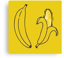 Naked Banana Canvas Print