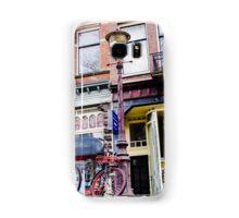 Colorful Amsterdam scene Samsung Galaxy Case/Skin