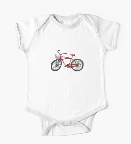 Vintage Pedal Power One Piece - Short Sleeve
