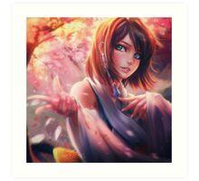 Yuna Art Print