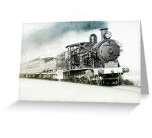 Full steam ahead Greeting Card