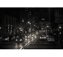 San Francisco Night I Toned Photographic Print