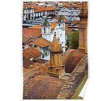 Rooftops Of Cuenca III Poster