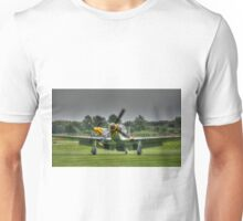 Taxiing Mustangs Unisex T-Shirt