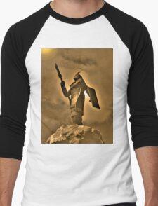 Inca King Huayna Capac Appeals To The Sun God Men's Baseball ¾ T-Shirt
